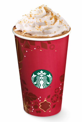 Starbucks Christmas Food And Drinks 2013| www.thepeachkitchen.com