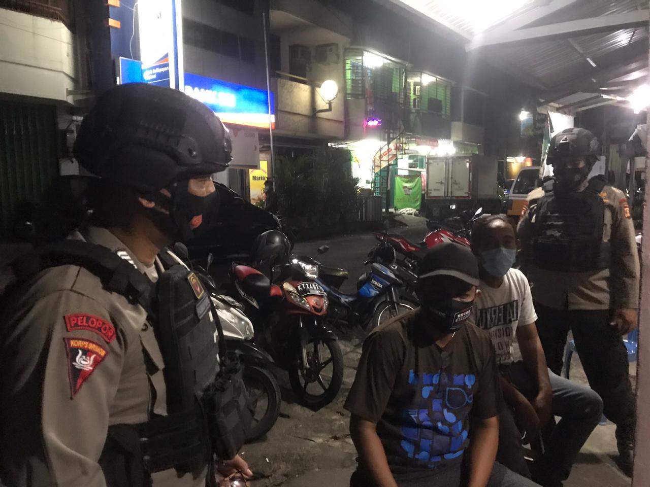 Batalyon A Pelopor Brimob Polda Kaltim Tingkatkan Patroli Menjelang Subuh