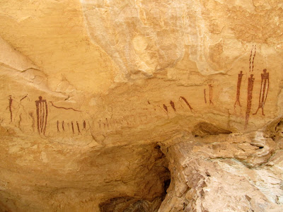 Wild Horse Creek pictographs