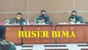 Tim Monitoring Dan Evaluasi Mabes TNI Tinjau Pembagunan Huntap Pasca Gempa NTB