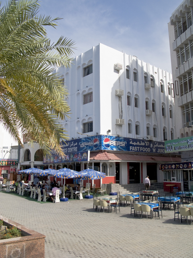 Oman - Muscat fast food shop