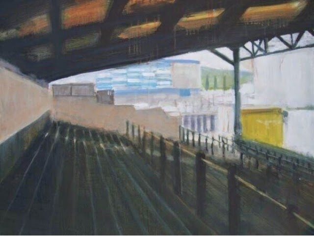 The Last Painting of Ninian Park by Philip Watkins