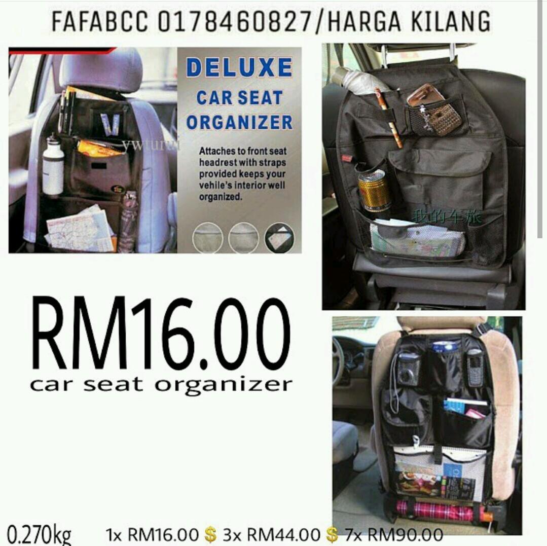 MALAYSIA SAVE SHOP (JUAL BORONG MURAH MALAYSIA): Car Seat Organizer ...