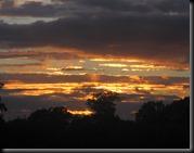 Urchfont sunset