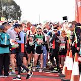 OIC - ENTSIMAGES.COM - Natalie Dormer start of the Celebrity Race at the  Virgin Money London Marathon on Blackheath in London, England. 24th April 2016 Photo Mobis Photos/OIC 0203 174 1069
