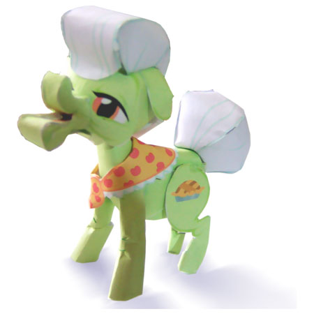 My Little Pony Granny Smith Papercraft