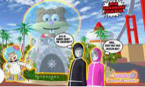 ID Rumah Kaca Sandy Spongebob di Sakura School Simulator Cek Disini