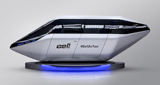 Bell Helicopter unveils futuristic flying taxi concept