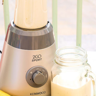 The 'Kick-Starter' Banana, Yogurt And Ginger Smoothie