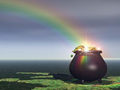 arcobaleno e pentola
