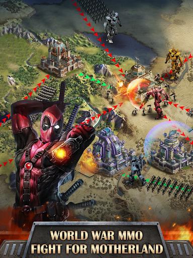 Mutants War: Heroes vs Zombies MMOSLG apktram screenshots 14