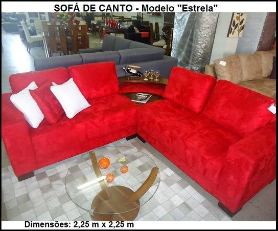 sofá em promoção mostruário da loja