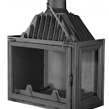 PANTHERM 62 DESNI lateral dim. 620x500 promjer dimovodne cijevi: fi150/fi200 težina ložišta:125 kg