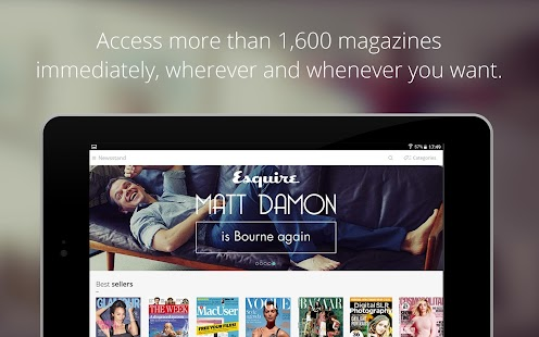 LeKiosk - newsstand magazines- screenshot thumbnail