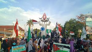 Tuntut Pembebasan Al-Aqsa, Ratusan Massa di Metro Turun ke Jalan