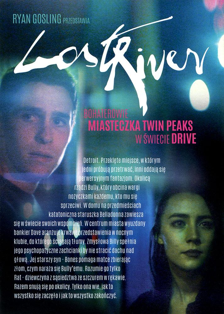 Ulotka filmu 'Lost River (tył)'