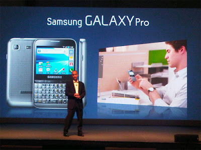 Samsung Galaxy Pro Phone Released