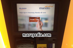 Top Up e-Money Mandiri di ATM Bank Mandiri