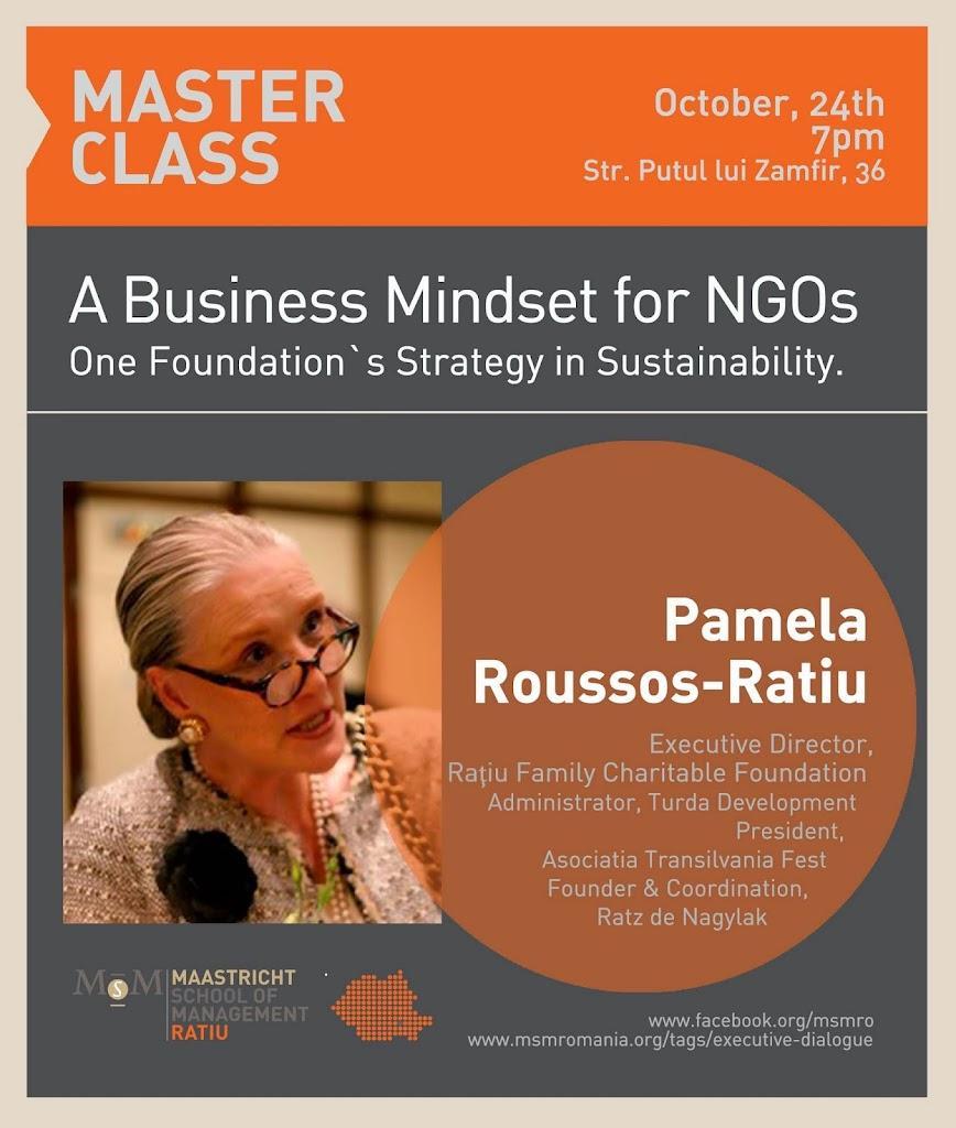 Master Class Pamela Ratiu