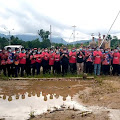 Kaum Milenial Bengkayang Deklarasikan Dukungan Untuk Martinus - Carlos