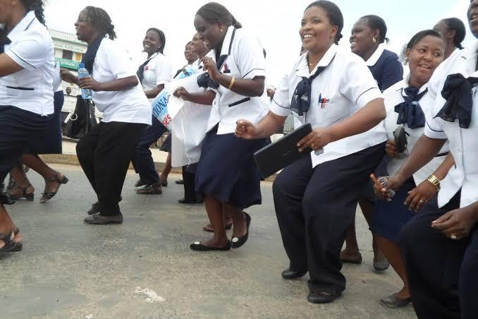 Kilifi county doctors strike. PHOTO |BNC