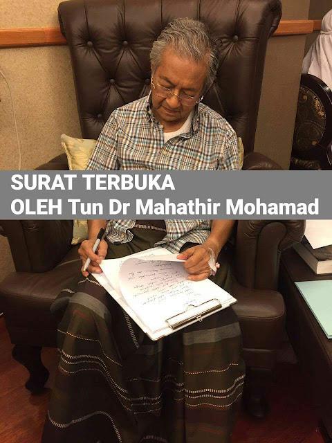 SURAT TERBUKA Dr Mahathir Mohamad Kepada Rakyat Malaysia,
