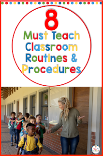 Must have classroom routines- start the year off with classroom managment