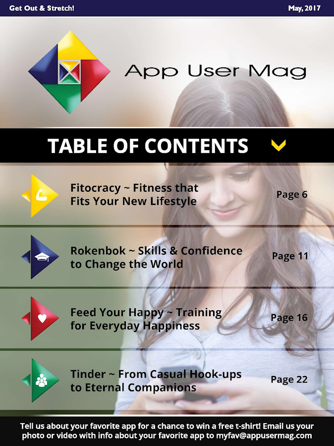 App User Magazine- screenshot