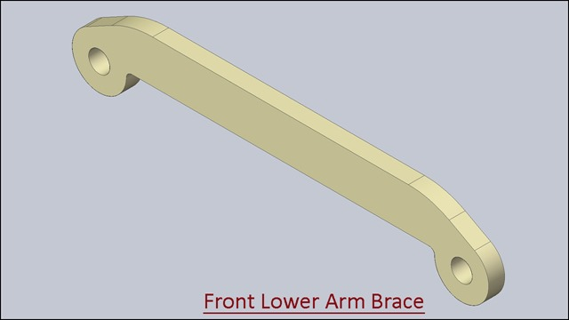 Front Lower Arm Brace