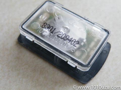 液晶メモは分解不可のためボタン電池が取り出せない