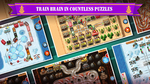 Rail Maze 2 : Train puzzler  screenshots 1