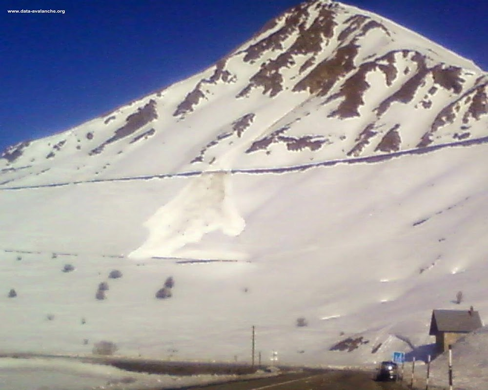 Avalanche Cerces, secteur Col du Lautaret, RD 902 Crète de Chaillol - Photo 1