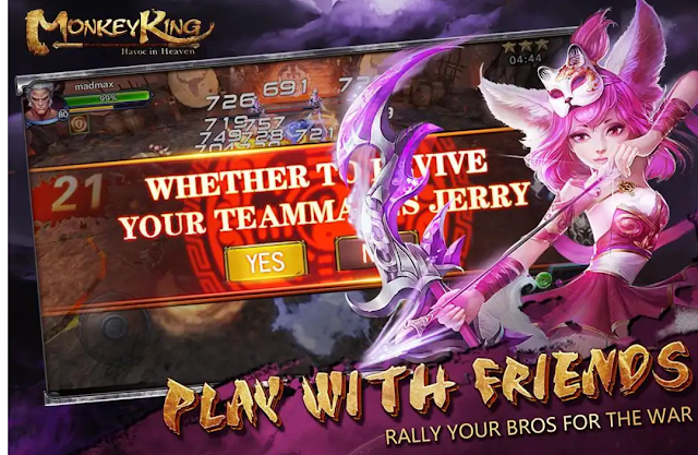 Monkey King: Havoc in Heaven Android / iOS