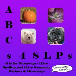 ABCs 4 SLPs iLiveSpelling & iLiveGrammar