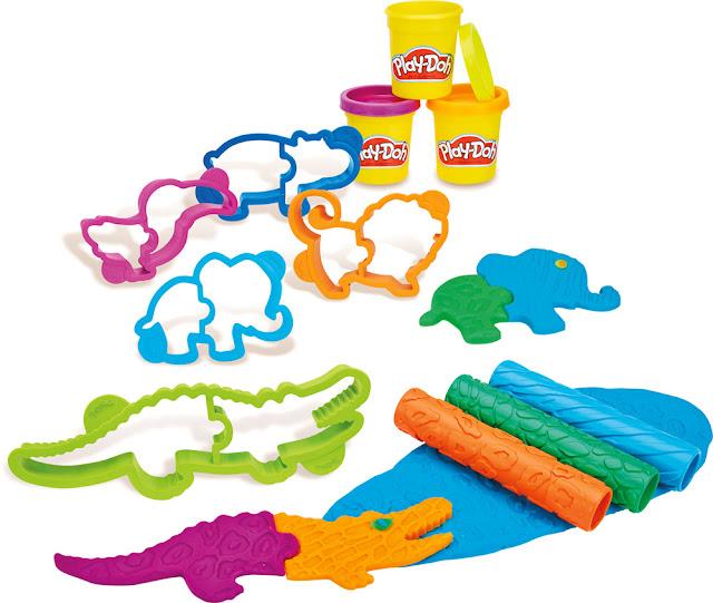 Bột nặn khuôn hình thế giới động vật Play-doh B1168
