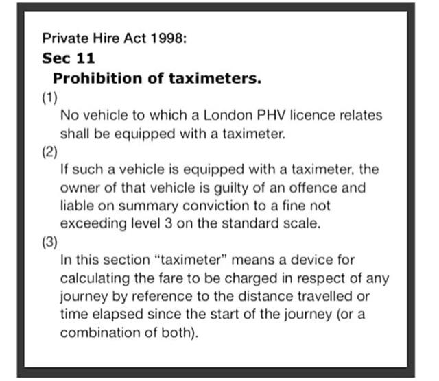 Taxi Leaks: July 2018