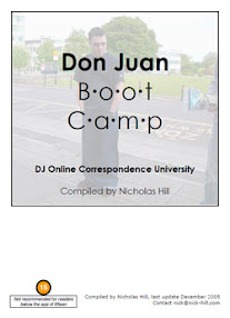 Cover of Nicholas Hill's Book Don Juan Boot Camp