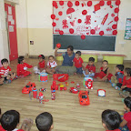 Red Colour Day (Nursery, R.C. Vyas) 12.04.2017
