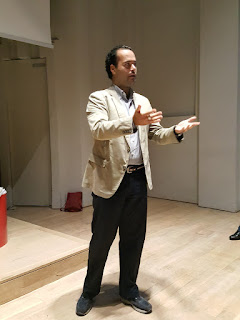 Dr Cingoli spoke at the National Design Centre, Singapore.