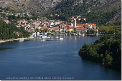 Croatia Cruising Companion ACI Marina Skradin