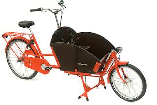 Bakfiets kort Cykelfabriken Lastcykel