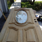 Prepped Door ready for stain and finish