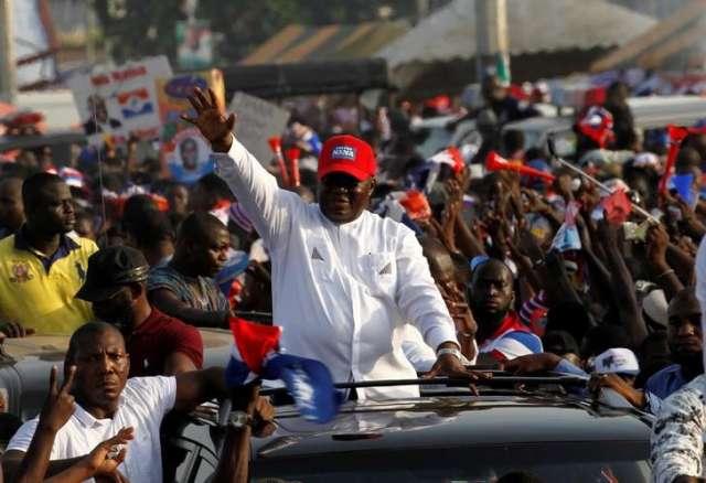 Ghana Election Nana Akufo-Addo declared new president