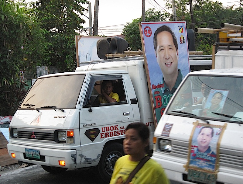 campaigning for Quezon City councillors