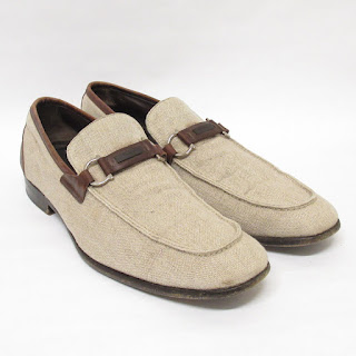 Salvatore Ferragamo Linen Loafers