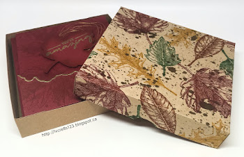 Linda Vich Creates: Vintage Leaves Card Set Winner Announced! Autumn-hued gate fold card set created with Vintage Leaves and Detailed Floral Thinlits.