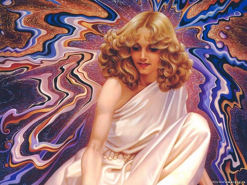 White Goddess Of World, Goddesses