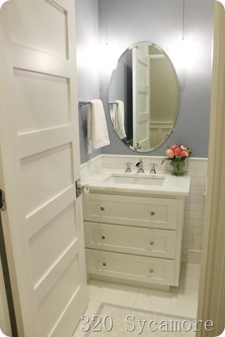 periwinkle vanity
