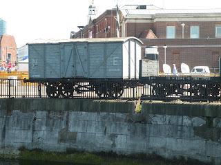 Портсмут. Военно-Морской Музей. Старый железнодорожный вагон