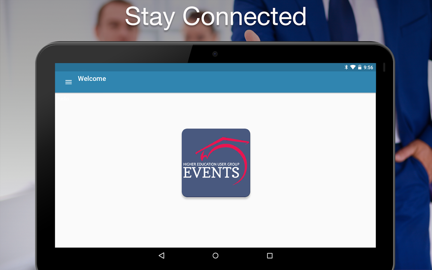 HEUG Events- screenshot